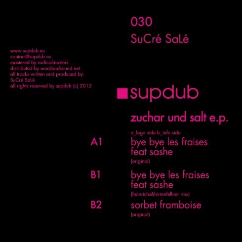 Sucré Salé - Zuchar and Salt