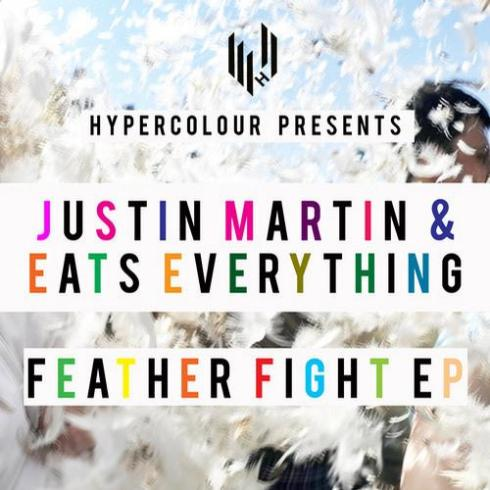 justin martin eats everything feather fight